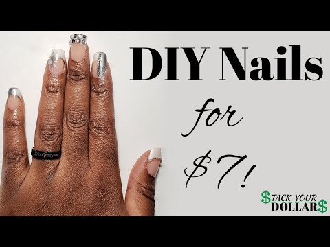 How To Do Acrylics At Home: DIY Fake Nails Under $10