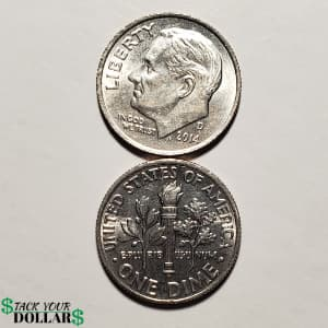 Picture of Dime Front and Back