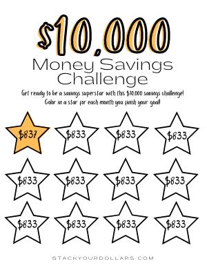 $10,000 Savings Challenge