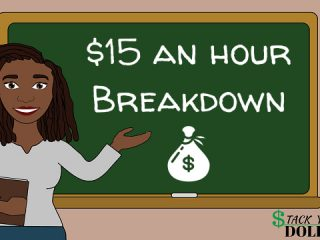 15 an hour breakdown and budget