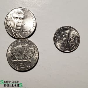 Two nickels and 10 cents
