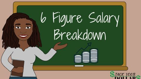 6 figure salary breakdown