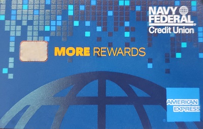 American Express credit card through NFCU