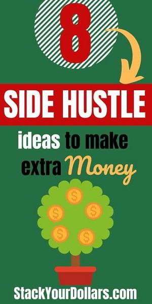 Image of 8 side hustle ideas