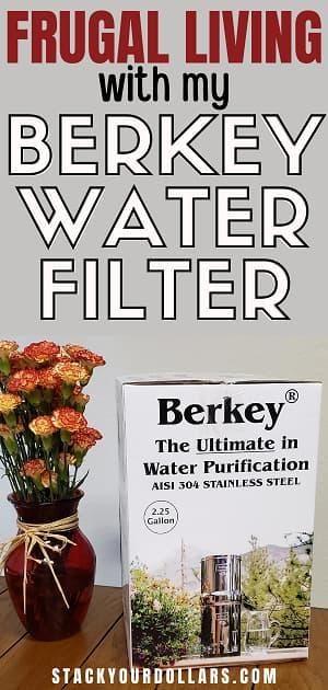 Image of Big Berkey water filter in box