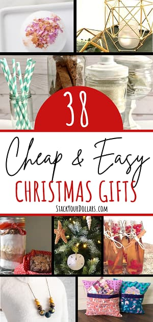 Image of pin for 38 cheap and easy Christmas gifts