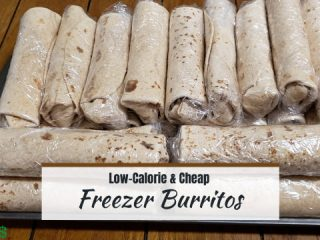 Low-Calories and cheap freezer burritos