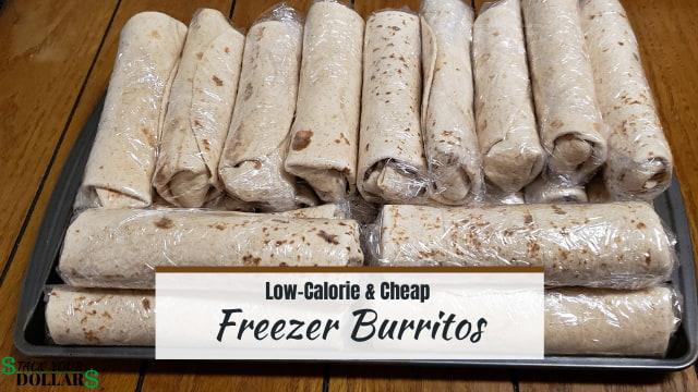 Low-Calorie and cheap freezer burritos