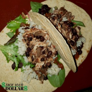 Image of cheap homemade tacos