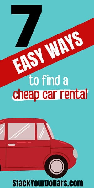 Image for easy ways to find cheap rental cars