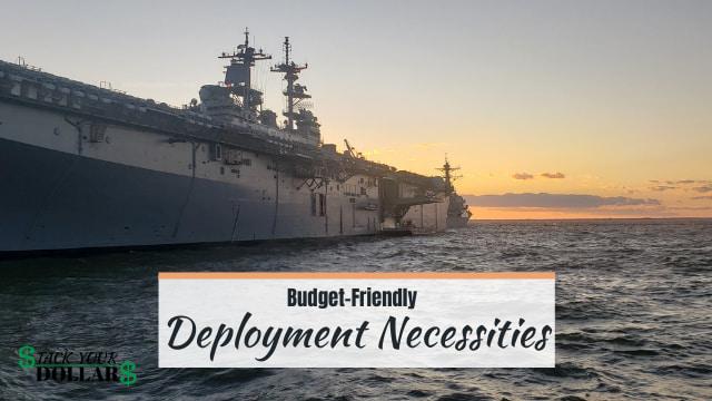 Deployment necessities