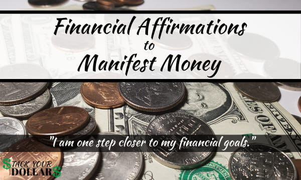 Financial Affirmations to Manifest Money