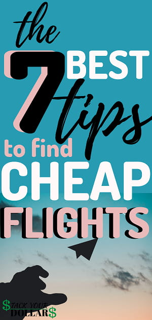 How To Find A Cheap Flight Anywhere Pin