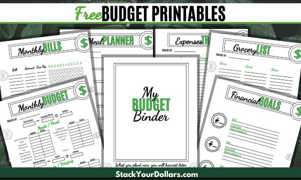 Free Budget Printables
