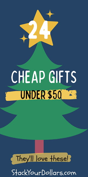 Gifts under 50 dollars - Christmas Tree