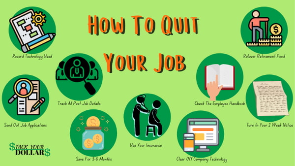 How to quit your job and 9 bubbles to prepare