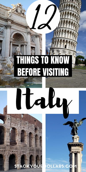 Image of 12 things to know when traveling to Italy for the first time