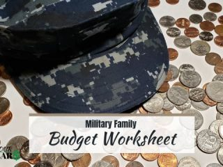 Military Family Budget
