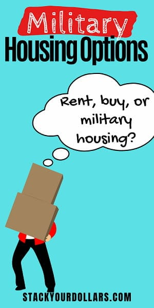 Image for military housing options
