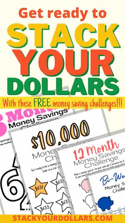 Free Money Saving Challenges