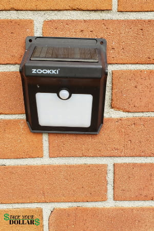 Zookki Motion Sensor Outdoor Security Light