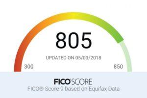 800 Credit Score Club - FICO 9 Score