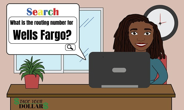 Routing number for Wells Fargo search