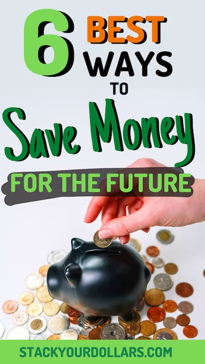 6 best way to save money for the future with piggy bank