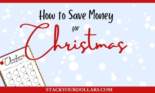 How to save money for Christmas with a free Christmas savings plan