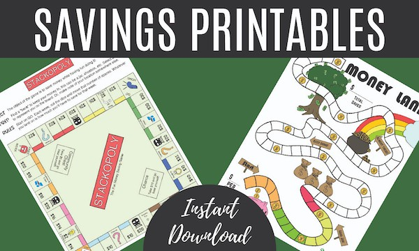 Savings Printable