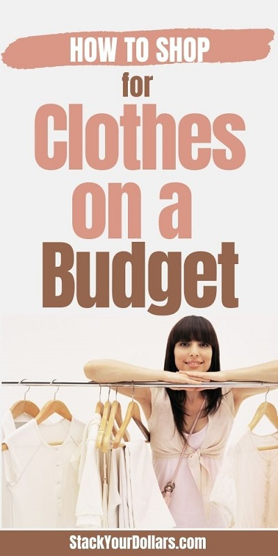 How to shop for clothes on a budget