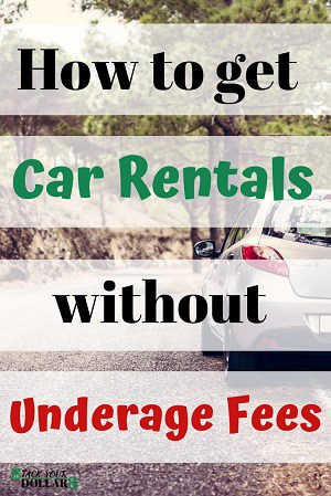 Skip the Underage Car Rental Fee Pin