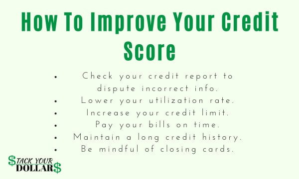 Image of strategies to improve your credit score