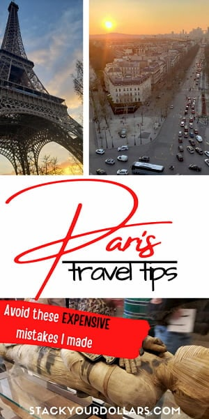Image for tips for traveling to Paris, France
