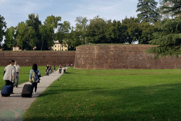 Image of Lucca Italy wall