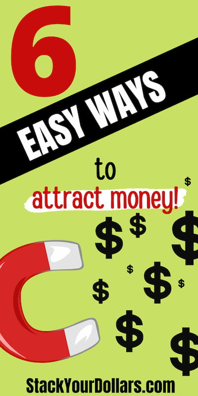 6 easy ways to attract money