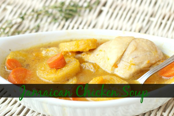 Image of chicken soup as remedy for cold